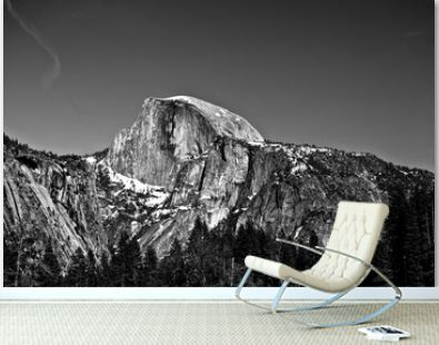 Half Dome in Yosemite National Park, California, USA.