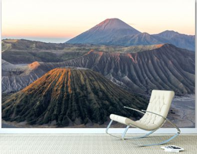 Bromo Volcano Group Is a natural tourist attraction with beautiful scenery Is in Indonesia Considered to be a powerful volcano Which tourists are increasingly popular every year