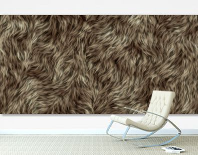 seamless texture of fur
