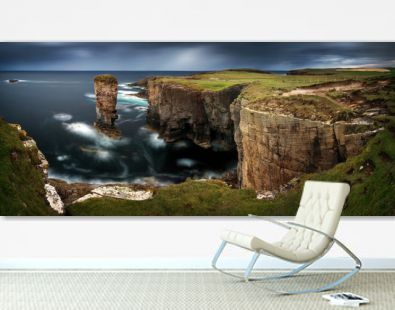 Yesnaby Cliffs Panorama