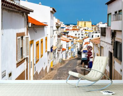 Street in the old town of Lagos in Algarve, Portugal