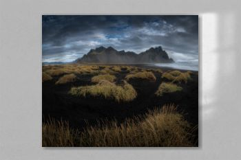 Vestrahorn mountain at Stokksnes cape in East Iceland in the morning