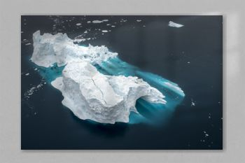 View of iceberg from Greenland.