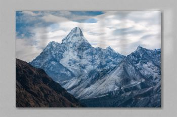 Everest trekking. Ama Dablam is a mountain in the Himalaya range of eastern Nepal. Adventure in the Himalayas