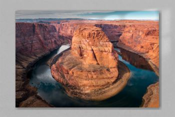 Horseshoe Bend at the Grand Canyon. The famous breathtaking point must visit. Colorado River