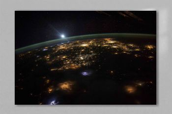 Earth observation taken by the Expedition 43 crew. Original from NASA