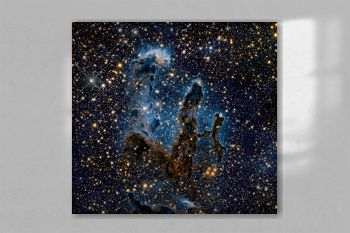 Hubble Goes High Def to Revisit the Iconic 'Pillars of Creation' Messier 16 (The Eagle Nebula). Original from NASA