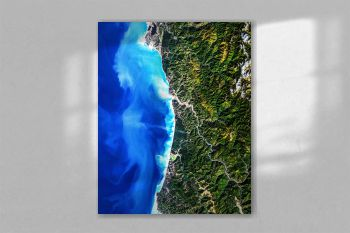 Redwood National Park. Original from NASA.