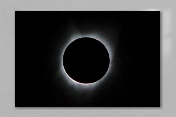 2017 Total Solar Eclipse. Original from NASA