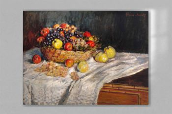 Apples and Grapes (1879–1880) by Claude Monet