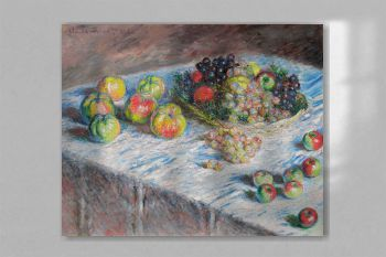 Apples and Grapes (1880) by Claude Monet