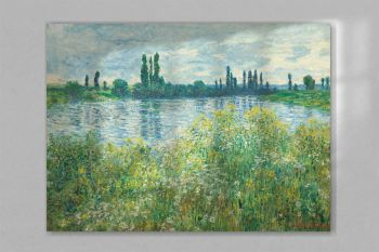 Banks of the Seine, Vétheuil (1880) by Claude Monet