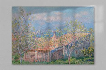 Gardener's House at Antibes 1888 by Claude Monet