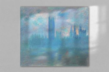 Houses of Parliament, London (1900–1901) by Claude Monet