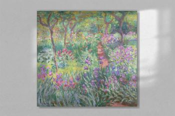 The Artist's Garden in Giverny 1900 by Claude Monet