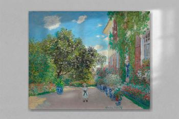The Artist's House at Argenteuil (1873) by Claude Monet