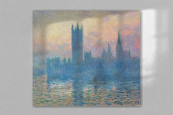 The Houses of Parliament, Sunset (1903) by Claude Monet