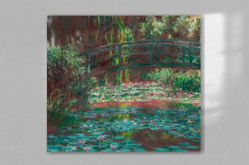Water Lily Pond (1900) by Claude Monet