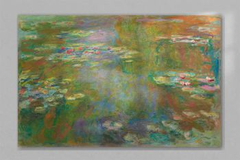 Water Lily Pond (1917–1919) by Claude Monet