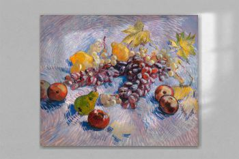 Grapes, Lemons, Pears, and Apples (1887) by Vincent Van Gogh