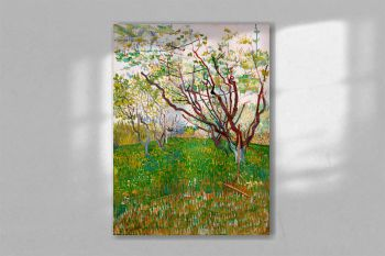 The Flowering Orchard (1888) by Vincent Van Gogh