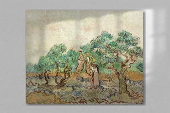The Olive Orchard (1889) by Vincent van Gogh