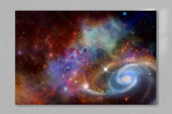 Nebula, galaxy,starfield, in outer space. Infinity universe