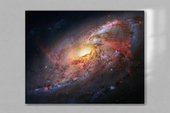 The beauty of the universe: Huge and detailed Spiral Galaxy M106