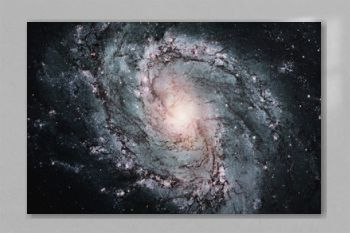 Space Galaxy Background. Messier 83 Elements of this image furnished by NASA.