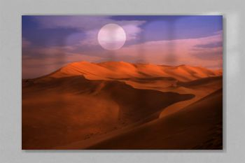 desert dune silhouette background