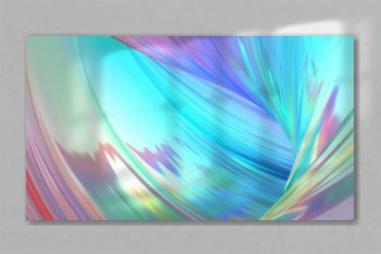 holographic abstract background. Holographic neon foil trend background