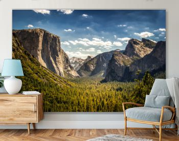 Yosemite National Park, Half Dome from Tunnel View