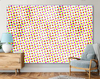 Abstract halftone pop art background