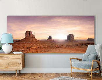 Nice view of the Monument Valley in the United States