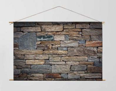 Abstract Stone Texture Background of Wall Fence, Home Architecture and Gardening Decorative Design, Architectural Granite Walling of Exterior and Interior Decor. Pattern Backgrounds for Housing
