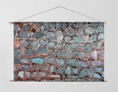 Stone Background Rock Tile with color pale light green pattern texture abstract material for wallpaper