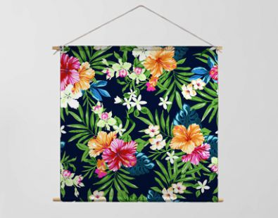 colorful and cute tropical seamless print