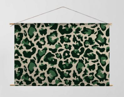 Seamless leopard all over repeat pattern